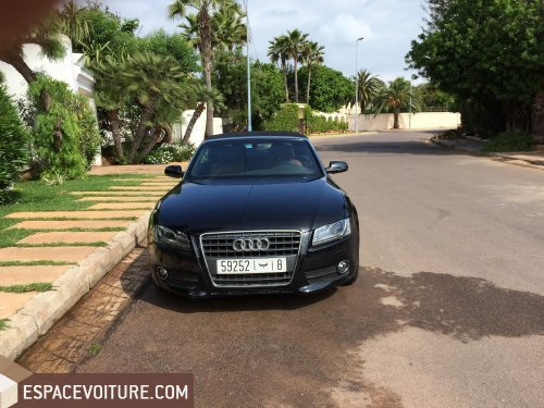 audi a5 2010 essence voiture d 39 occasion casablanca prix 280 000 dhs. Black Bedroom Furniture Sets. Home Design Ideas