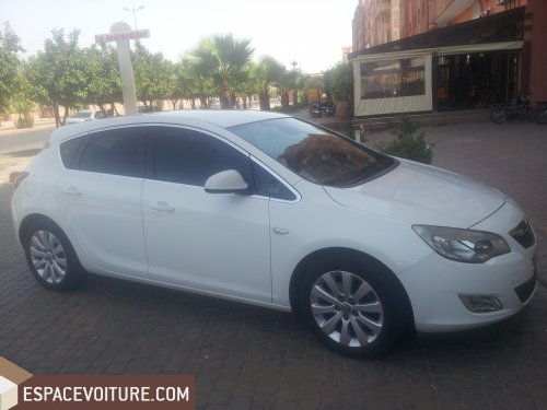astra occasion à marrakech, opel astra diesel prix 165 000 dhs réf