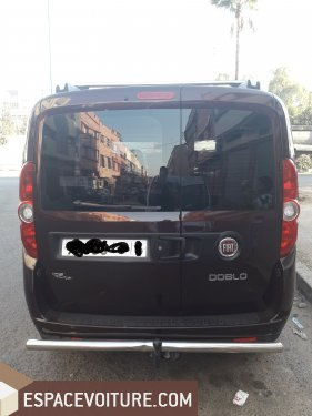 fiat doblo 2015 diesel voiture d 39 occasion casablanca prix 133 000 dhs. Black Bedroom Furniture Sets. Home Design Ideas
