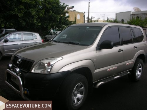 toyota prado occasion agadir diesel prix 130 000 dhs r f agr1472. Black Bedroom Furniture Sets. Home Design Ideas
