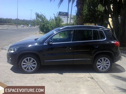 volkswagen tiguan 2012 diesel voiture d 39 occasion casablanca prix 365 000 dhs. Black Bedroom Furniture Sets. Home Design Ideas