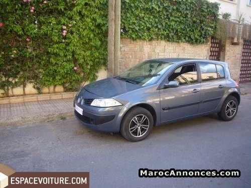 Renault megane occasion casablanca diesel prix 105 000 for Arret voiture garage