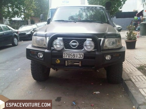 nissan patrol gr occasion à casablanca, diesel prix 210 000 dhs réf