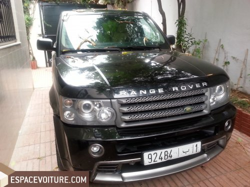 land rover range rover sport 2008 diesel voiture d 39 occasion casablanca prix 300 000 dhs. Black Bedroom Furniture Sets. Home Design Ideas