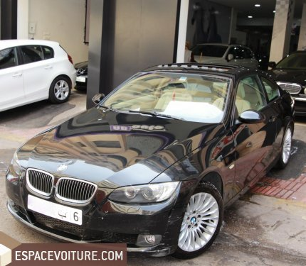 bmw serie 3 2007 essence voiture d 39 occasion casablanca. Black Bedroom Furniture Sets. Home Design Ideas