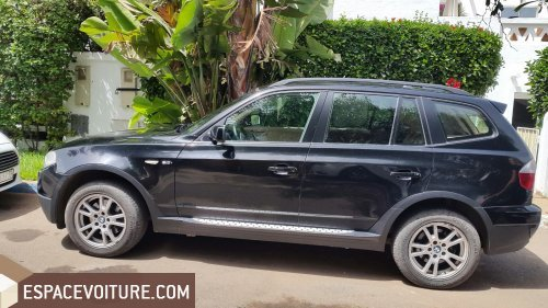 bmw x3 2007 essence voiture d 39 occasion casablanca prix 120 000 dhs. Black Bedroom Furniture Sets. Home Design Ideas