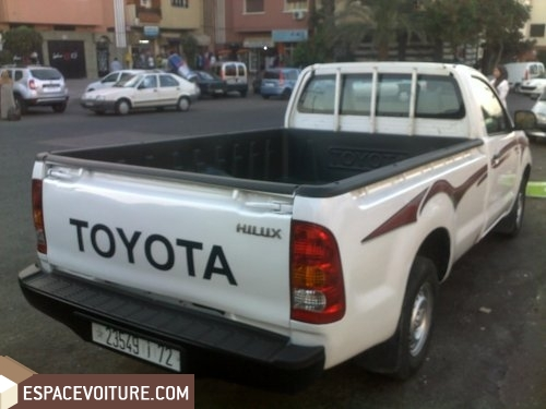toyota hilux occasion casablanca diesel prix 138 000 dhs r f caa12123. Black Bedroom Furniture Sets. Home Design Ideas