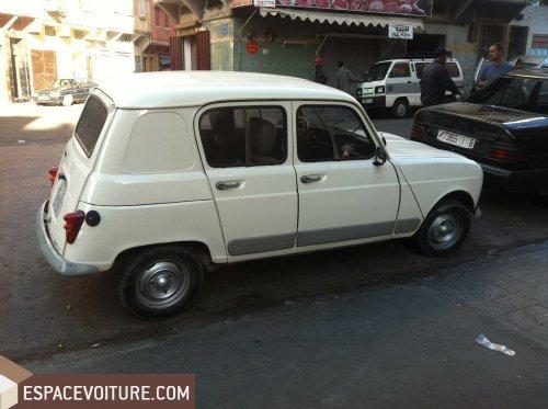 4l occasion à casablanca, renault 4l essence prix 14 000 dhs réf
