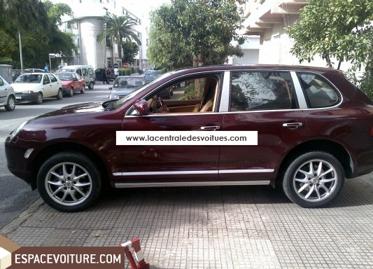 porsche cayenne occasion rabat essence couleur bordeaux r f rat419. Black Bedroom Furniture Sets. Home Design Ideas