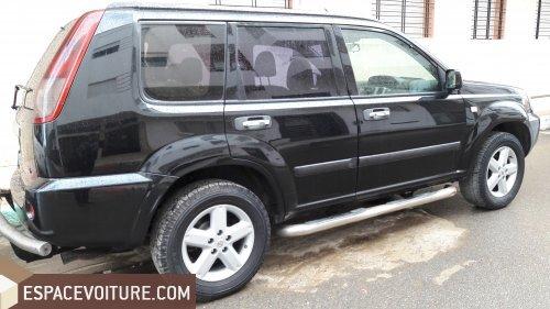 nissan xtrail 2009 diesel voiture d 39 occasion rabat couleur noir. Black Bedroom Furniture Sets. Home Design Ideas