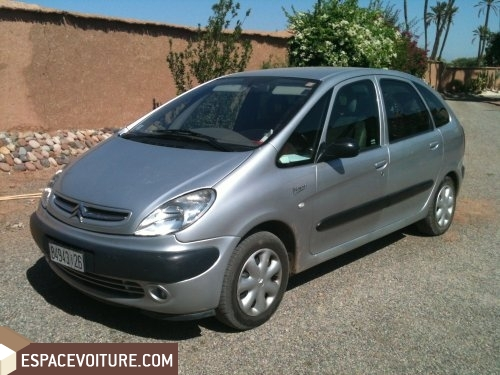 citroen xsara picasso occasion marrakech diesel prix 75 000 dhs r f mah1553. Black Bedroom Furniture Sets. Home Design Ideas