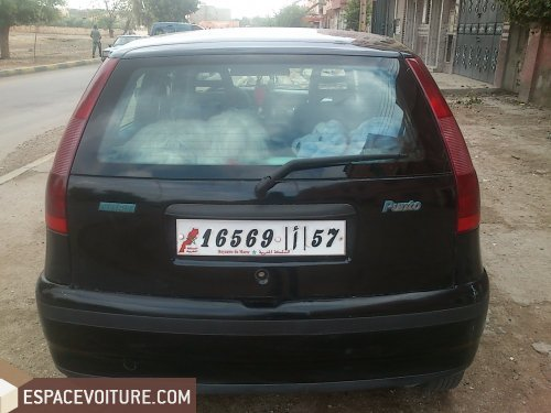 fiat punto 1999 essence voiture d 39 occasion khouribga prix 53 000 dhs. Black Bedroom Furniture Sets. Home Design Ideas