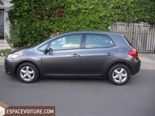 toyota auris 2009 diesel voiture d 39 occasion casablanca couleur gris. Black Bedroom Furniture Sets. Home Design Ideas