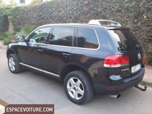 volkswagen touareg 2004 diesel voiture d 39 occasion casablanca prix 119 000 dhs. Black Bedroom Furniture Sets. Home Design Ideas