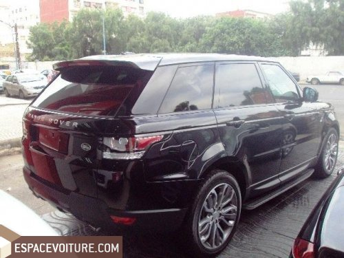 land rover range rover 2015 diesel voiture d 39 occasion casablanca couleur noir. Black Bedroom Furniture Sets. Home Design Ideas