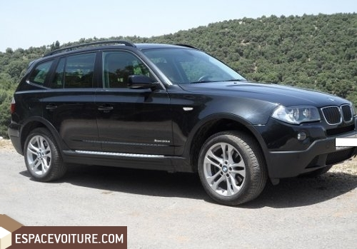 bmw x3 occasion casablanca diesel prix 470 000 dhs r f caa9301. Black Bedroom Furniture Sets. Home Design Ideas