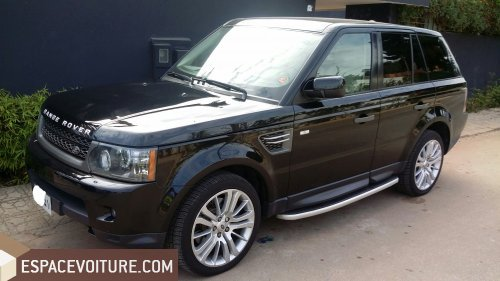 land rover range rover sport 2010 diesel voiture d 39 occasion rabat prix 390 000 dhs. Black Bedroom Furniture Sets. Home Design Ideas