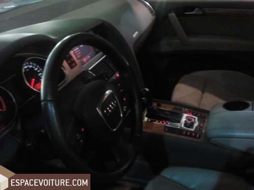audi q7 2007 diesel voiture d 39 occasion rabat couleur bleu marine. Black Bedroom Furniture Sets. Home Design Ideas