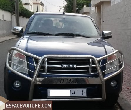 isuzu d max 2012 diesel voiture d 39 occasion casablanca prix 200 000 dhs. Black Bedroom Furniture Sets. Home Design Ideas
