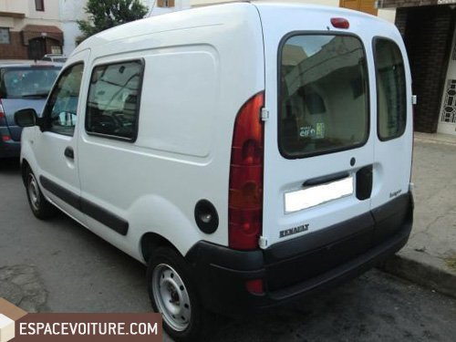 kangoo occasion rabat renault kangoo diesel couleur blanc r f rat6899. Black Bedroom Furniture Sets. Home Design Ideas
