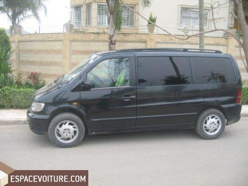 mercedes benz vito occasion sidi kacem diesel prix 150 000 dhs r f sim082. Black Bedroom Furniture Sets. Home Design Ideas