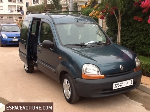 renault kangoo occasion rabat diesel prix 73 000 dhs r f rat4676. Black Bedroom Furniture Sets. Home Design Ideas