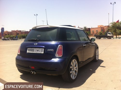 mini cooper 2006 essence voiture d 39 occasion marrakech prix 145 000 dhs. Black Bedroom Furniture Sets. Home Design Ideas