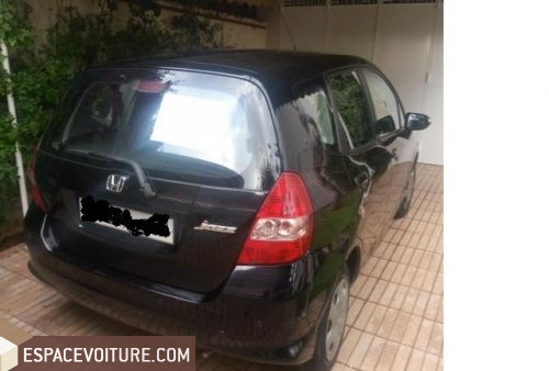honda jazz 2008 essence voiture d 39 occasion casablanca prix 85 000 dhs. Black Bedroom Furniture Sets. Home Design Ideas