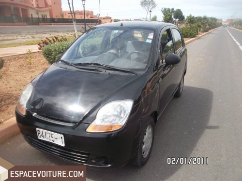 chevrolet spark 2008 essence voiture d 39 occasion rabat prix. Black Bedroom Furniture Sets. Home Design Ideas