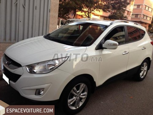 hyundai ix35 2013 diesel voiture d 39 occasion casablanca. Black Bedroom Furniture Sets. Home Design Ideas