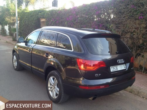 audi q7 2007 diesel voiture d 39 occasion casablanca prix 158 000 dhs. Black Bedroom Furniture Sets. Home Design Ideas