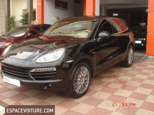 porsche cayenne occasion casablanca diesel prix 660 000. Black Bedroom Furniture Sets. Home Design Ideas
