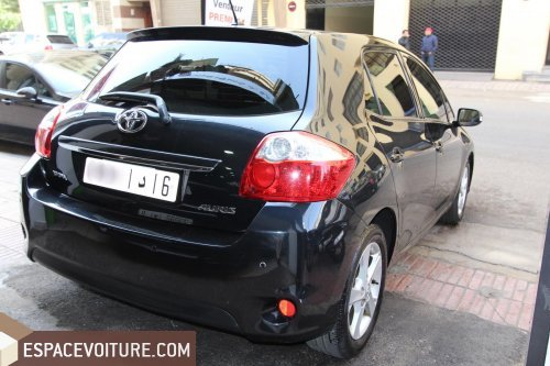 toyota auris 2012 diesel voiture d 39 occasion casablanca. Black Bedroom Furniture Sets. Home Design Ideas