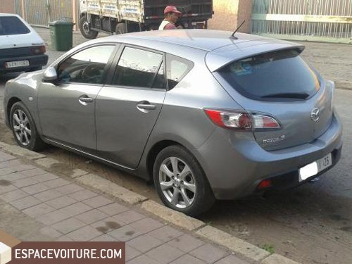 mazda 3 2011 diesel voiture d 39 occasion marrakech prix 165 000 dhs. Black Bedroom Furniture Sets. Home Design Ideas