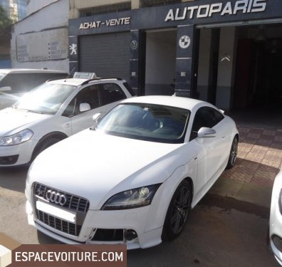 audi tt 2008 essence voiture d 39 occasion casablanca prix 290 000 dhs. Black Bedroom Furniture Sets. Home Design Ideas