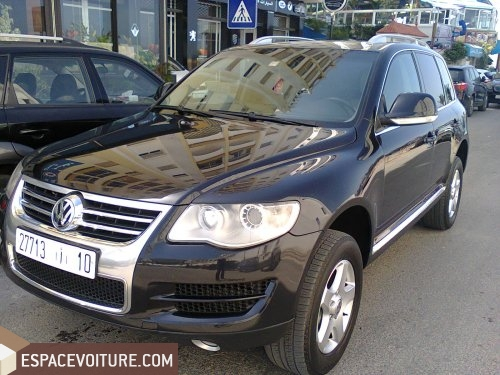 touareg occasion tanger volkswagen touareg diesel couleur noir r f tar1604. Black Bedroom Furniture Sets. Home Design Ideas