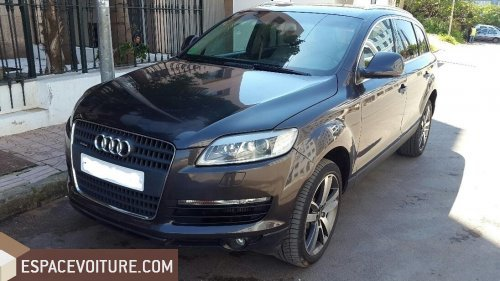 audi q7 2007 diesel voiture d 39 occasion casablanca prix 169. Black Bedroom Furniture Sets. Home Design Ideas