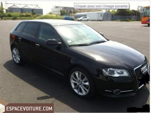 audi a3 2010 diesel voiture d 39 occasion tanger prix 180 000 dhs. Black Bedroom Furniture Sets. Home Design Ideas