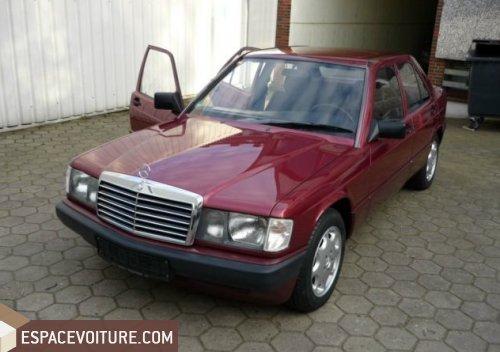 mercedes-benz 190 1992 diesel voiture d'occasion à nador prix 125