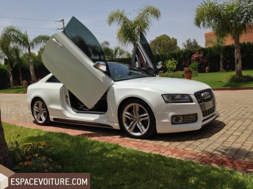 audi a5 2009 diesel voiture d 39 occasion el jadida prix 430 000 dhs. Black Bedroom Furniture Sets. Home Design Ideas