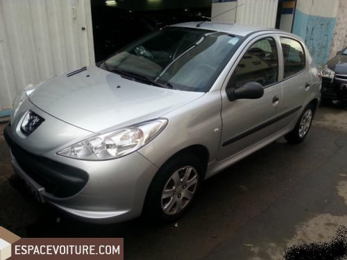 peugeot 206 2010 essence voiture d 39 occasion casablanca prix 75 000 dhs. Black Bedroom Furniture Sets. Home Design Ideas