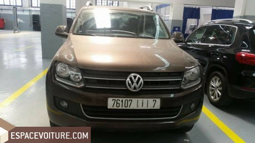 volkswagen amarok 2013 diesel voiture d 39 occasion casablanca prix 210 000 dhs. Black Bedroom Furniture Sets. Home Design Ideas