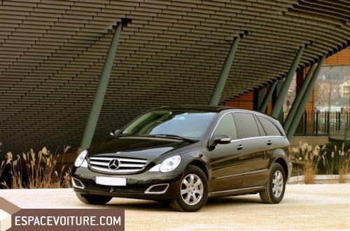 Mercedes Benz Classe R Occasion A Tanger Diesel Couleur Noir Ref
