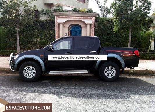 mitsubishi l200 occasion casablanca diesel prix 260 000 dhs r f caa2031. Black Bedroom Furniture Sets. Home Design Ideas