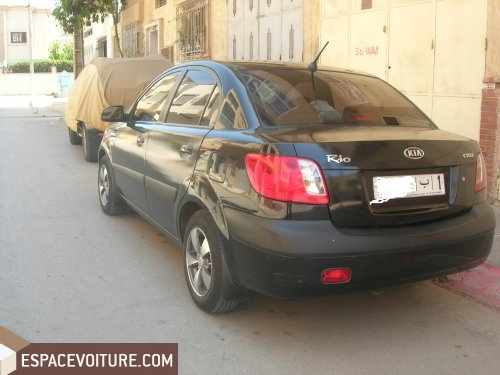 kia rio occasion rabat diesel prix 93 000 dhs r f rat6504. Black Bedroom Furniture Sets. Home Design Ideas