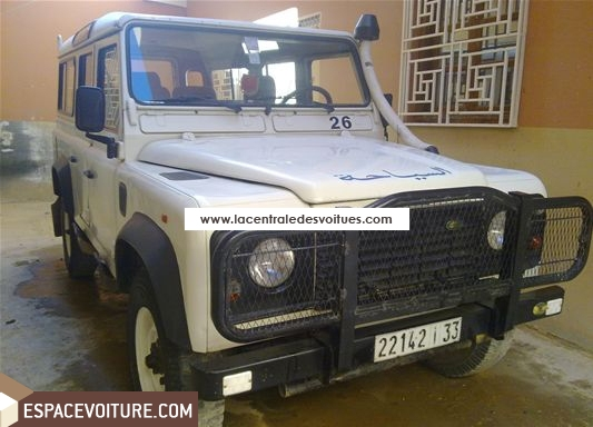 land rover defender occasion agadir diesel prix 120 000 dhs r f agr183. Black Bedroom Furniture Sets. Home Design Ideas