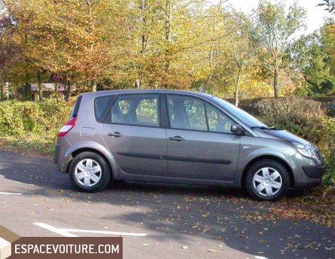 renault scenic 2005 diesel voiture d'occasion à rabat prix 78 000 dhs