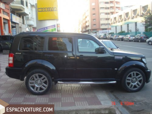 dodge nitro 2009 diesel voiture d 39 occasion casablanca couleur noir. Black Bedroom Furniture Sets. Home Design Ideas