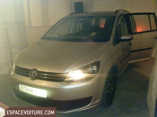 volkswagen touran 2011 diesel voiture d 39 occasion rabat prix 270 000 dhs. Black Bedroom Furniture Sets. Home Design Ideas