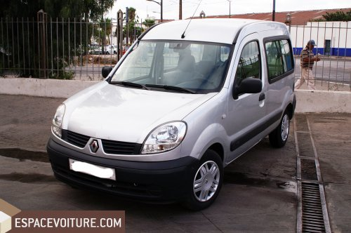 renault kangoo 2008 diesel voiture d 39 occasion casablanca prix 93 000 dhs. Black Bedroom Furniture Sets. Home Design Ideas